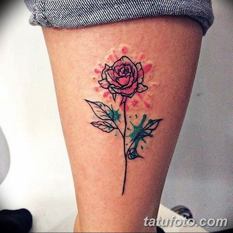 Фото красивые розы тату 12.08.2019 №057 - beautiful roses tattoo - tatufoto.com