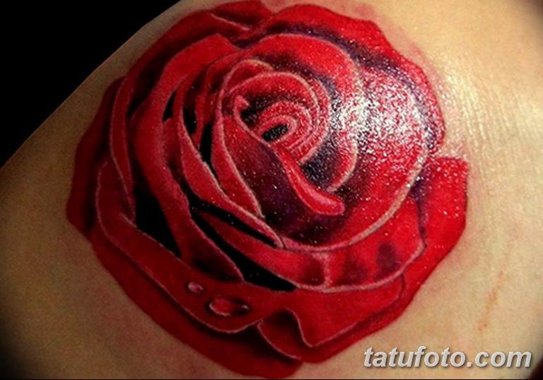 Фото красивые розы тату 12.08.2019 №058 - beautiful roses tattoo - tatufoto.com