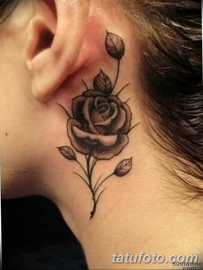 Фото красивые розы тату 12.08.2019 №060 - beautiful roses tattoo - tatufoto.com
