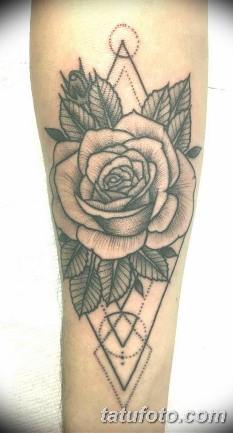 Фото красивые розы тату 12.08.2019 №081 - beautiful roses tattoo - tatufoto.com
