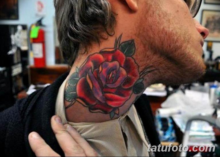Фото красивые розы тату 12.08.2019 №091 - beautiful roses tattoo - tatufoto.com