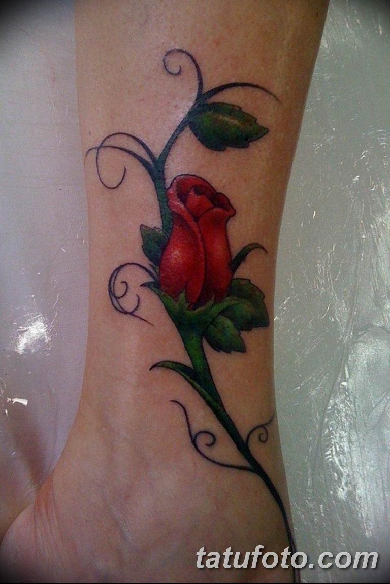 Фото красивые розы тату 12.08.2019 №093 - beautiful roses tattoo - tatufoto.com