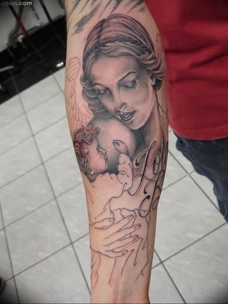 Фото красивые тату ангелов 12.08.2019 №023 - beautiful angels tattoos - tatufoto.com