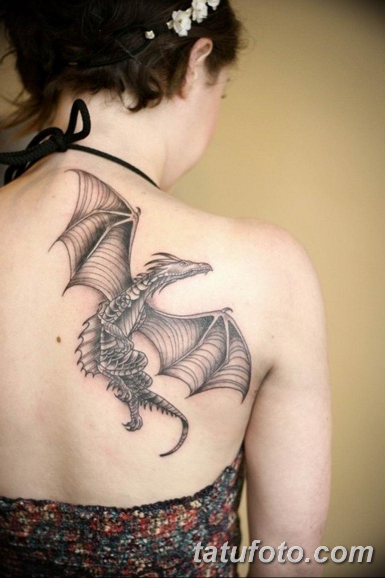 Фото красивые тату драконов 12.08.2019 №008 - beautiful dragon tattoos - tatufoto.com