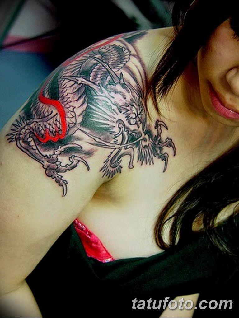 Фото красивые тату драконов 12.08.2019 №026 - beautiful dragon tattoos - tatufoto.com