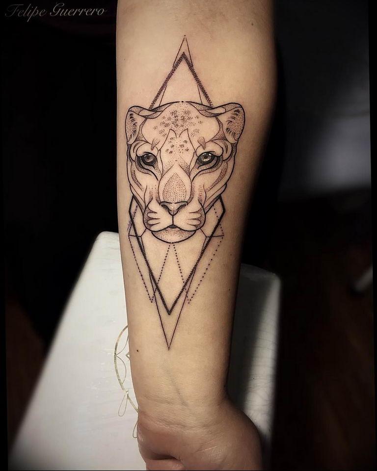 Фото красивые тату животных 12.08.2019 №008 - beautiful animal tattoos - tatufoto.com