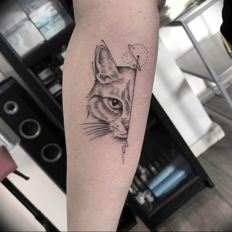 Фото красивые тату животных 12.08.2019 №009 - beautiful animal tattoos - tatufoto.com