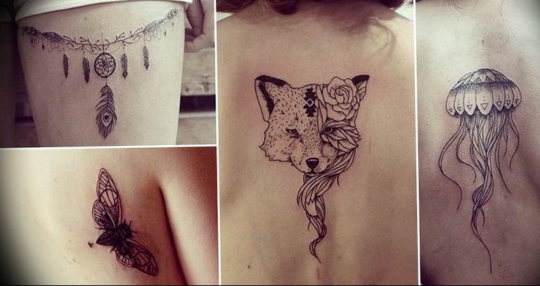 Фото красивые тату животных 12.08.2019 №027 - beautiful animal tattoos - tatufoto.com