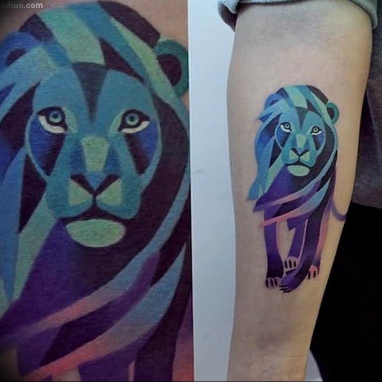 Фото красивые тату животных 12.08.2019 №039 - beautiful animal tattoos - tatufoto.com