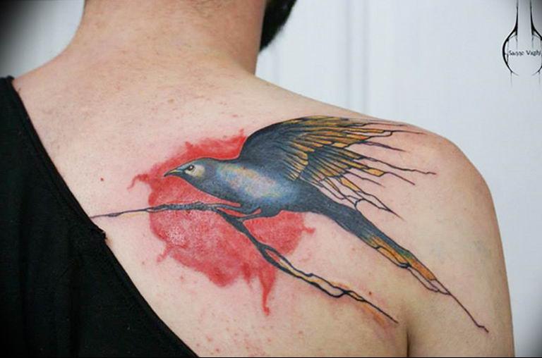 Фото красивые тату животных 12.08.2019 №043 - beautiful animal tattoos - tatufoto.com