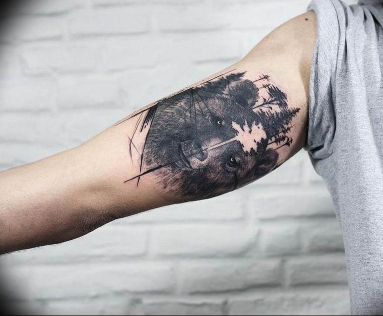 Фото красивые тату животных 12.08.2019 №073 - beautiful animal tattoos - tatufoto.com