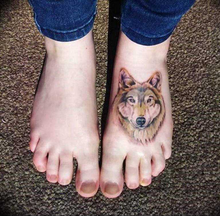 Фото красивые тату животных 12.08.2019 №078 - beautiful animal tattoos - tatufoto.com