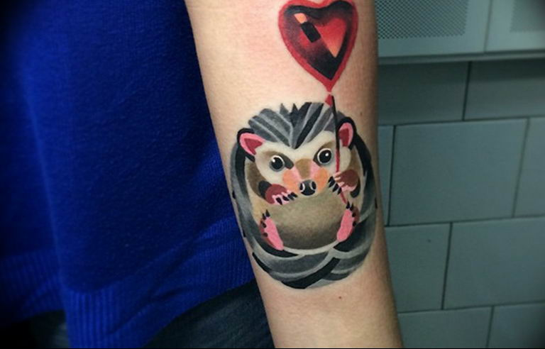 Фото красивые тату животных 12.08.2019 №086 - beautiful animal tattoos - tatufoto.com