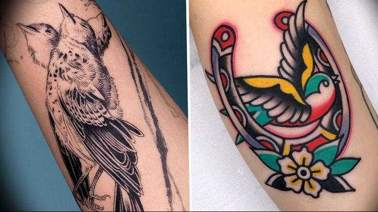 Фото красивые тату животных 12.08.2019 №092 - beautiful animal tattoos - tatufoto.com