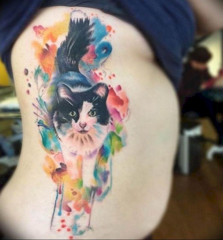 Фото красивые тату животных 12.08.2019 №098 - beautiful animal tattoos - tatufoto.com