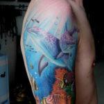 Фото пример тату океан 13.08.2019 №030 - ocean tattoo - tatufoto.com