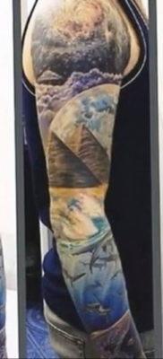 Фото тату океан 13.08.2019 №087 – ocean tattoo – tatufoto.com