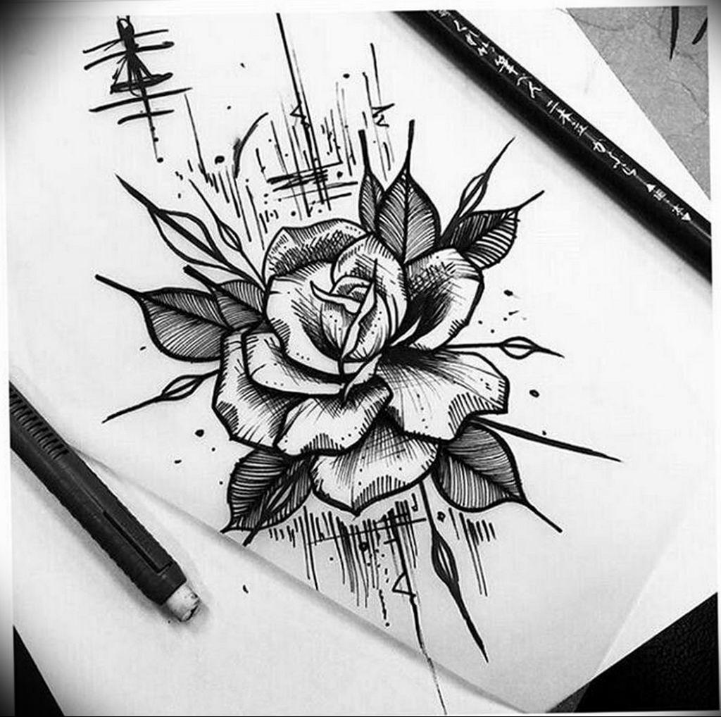фото предоставлен тату в стиле скетч розы фото мировой истории