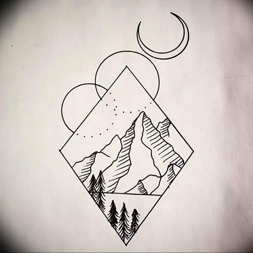 геометрия картинки тату янтаря, описание