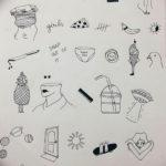 маленькие тату для девушек эскизы 14.08.2019 №003 - sketches small tattoo - tatufoto.com