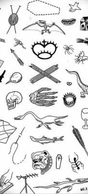 маленькие тату эскизы 14.08.2019 №009 – sketches small tattoo – tatufoto.com