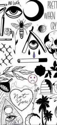 маленькие тату эскизы 14.08.2019 №055 – sketches small tattoo – tatufoto.com