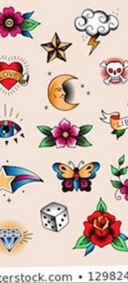 тату эскизы цветные маленькие 14.08.2019 №001 – sketches small tattoo – tatufoto.com