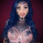 Амбер Люке и реакция соцсетей на ее новую татуировку нанесённую на щеке - фото 10