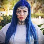 Амбер Люке и реакция соцсетей на ее новую татуировку нанесённую на щеке - фото 12