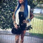 Амбер Люке и реакция соцсетей на ее новую татуировку нанесённую на щеке - фото 5