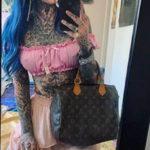 Амбер Люке и реакция соцсетей на ее новую татуировку нанесённую на щеке - фото 8