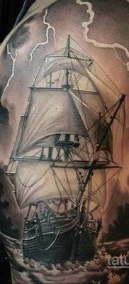 Фото тату молния реализм 14.09.2019 №001 – tattoo lightning realism – tatufoto.com