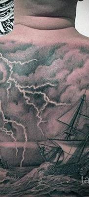 Фото тату молния реализм 14.09.2019 №009 – tattoo lightning realism – tatufoto.com