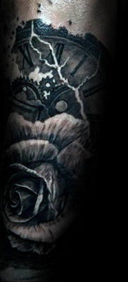 Фото тату молния реализм 14.09.2019 №012 – tattoo lightning realism – tatufoto.com