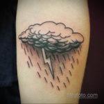 Фото тату молния реализм 14.09.2019 №019 - tattoo lightning realism - tatufoto.com
