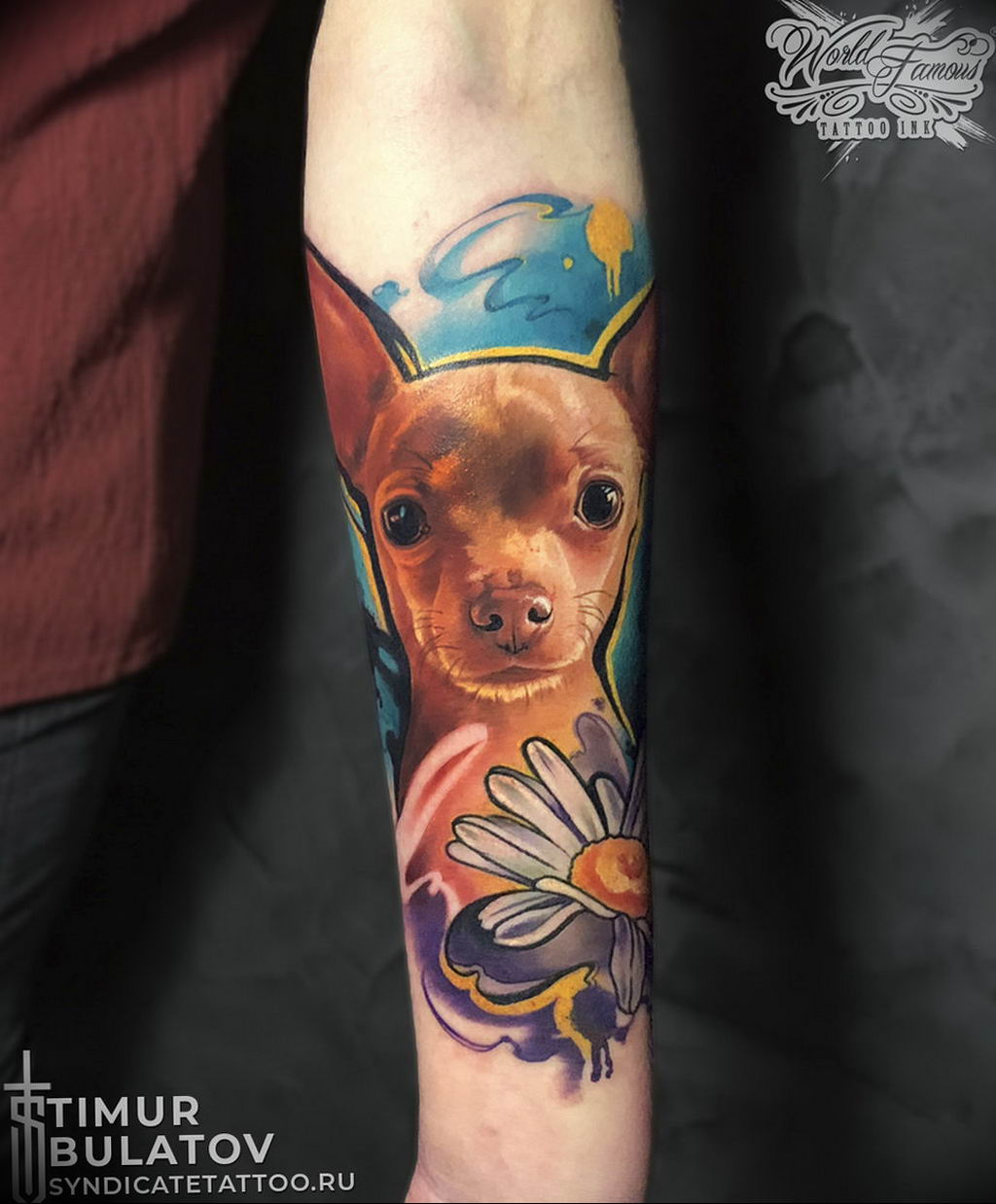 Фото тату студии Синдикат 09.09.2019 №080 - Syndicate tattoo - tatufoto.com