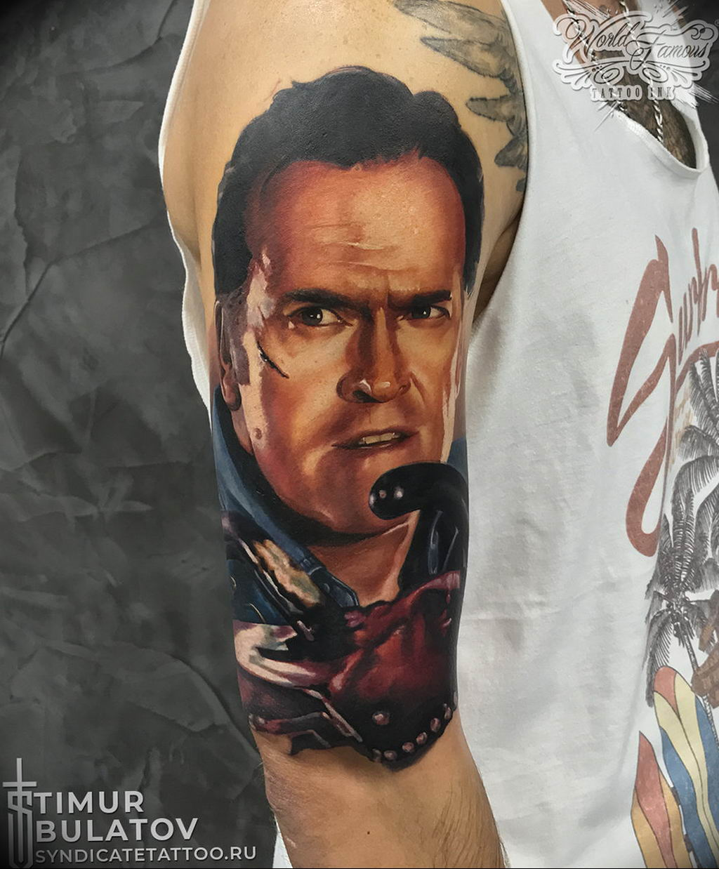 Фото тату студии Синдикат 09.09.2019 №105 - Syndicate tattoo - tatufoto.com