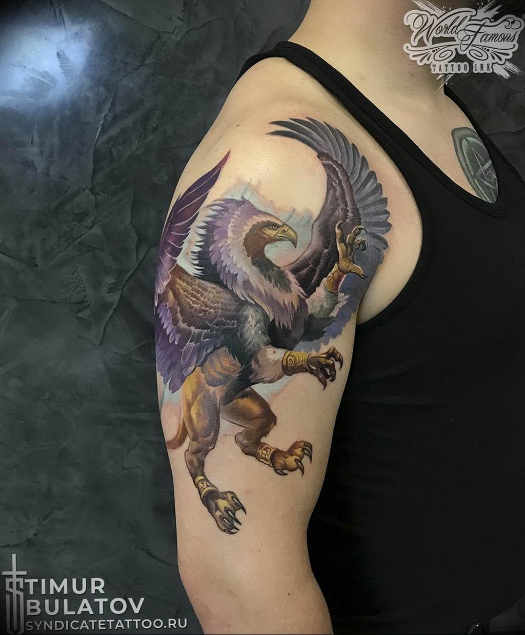 Фото тату студии Синдикат 09.09.2019 №115 - Syndicate tattoo - tatufoto.com