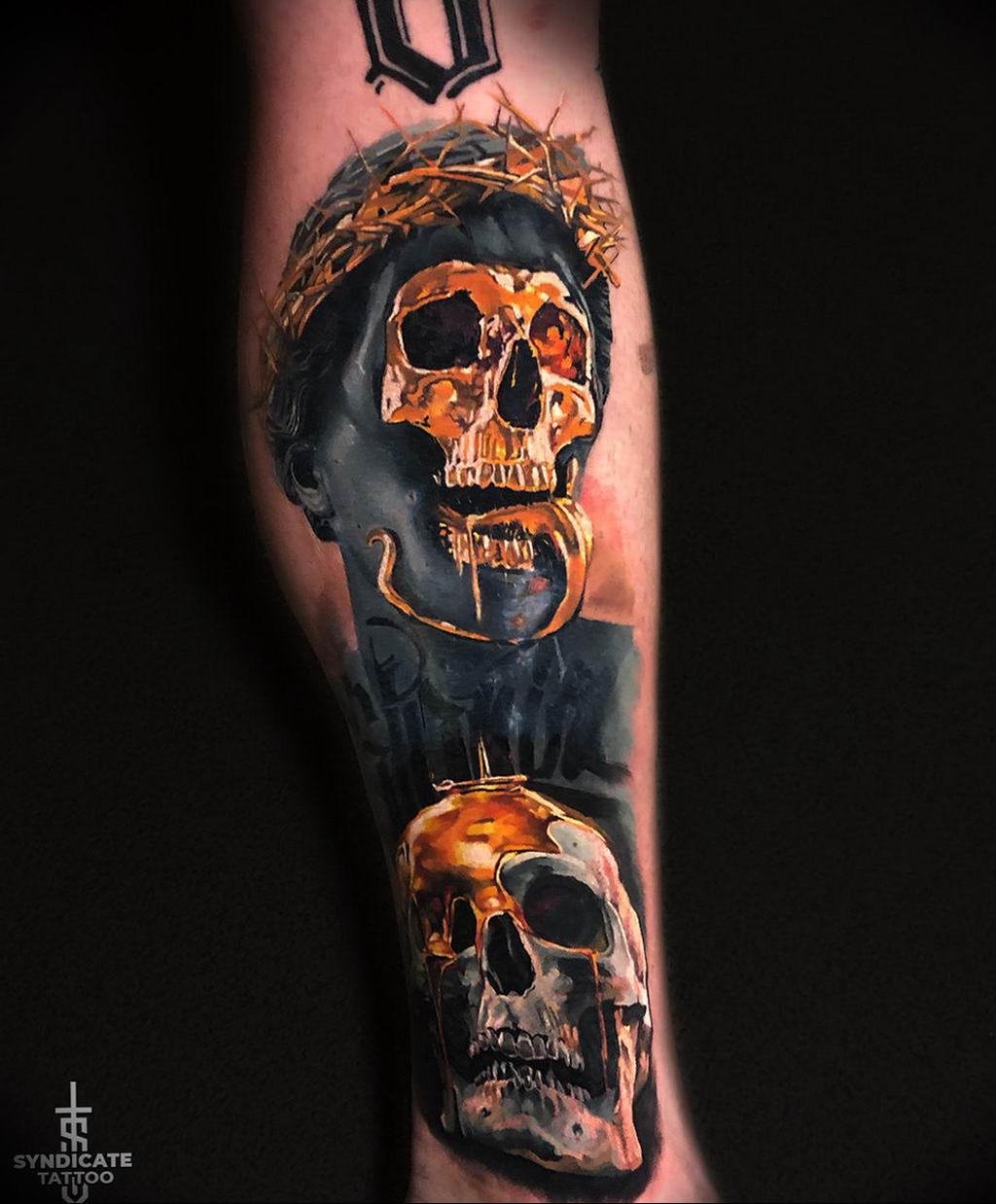 Фото тату студии Синдикат 09.09.2019 №130 - Syndicate tattoo - tatufoto.com