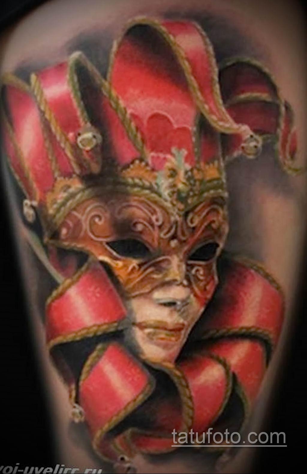Фото тату театральные маски 09.09.2019 №103 - tattoo theater masks - tatufoto.com