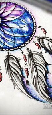 ловец снов тату эскизы цветные 16.09.2019 №004 – dreamcatcher tattoo sket – tatufoto.com