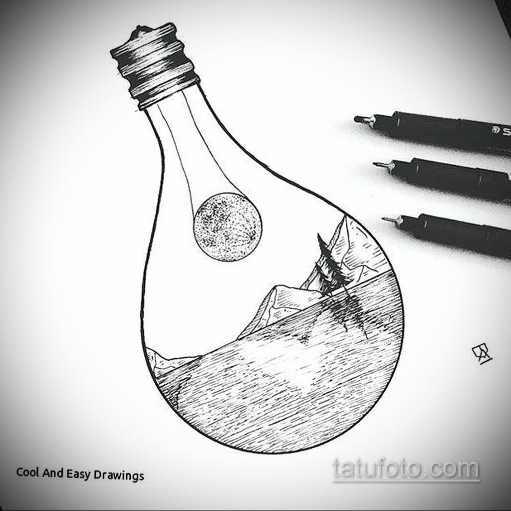 пример эскиза простой тату для девушки 15.09.2019 №009 - sketch for simpl - tatufoto.com