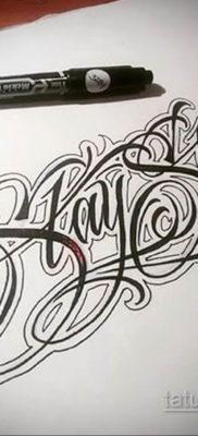 тату надписи шрифты эскизы 14.09.2019 №016 – tattoo lettering fonts sketche – tatufoto.com