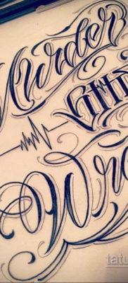 тату надписи шрифты эскизы 14.09.2019 №018 – tattoo lettering fonts sketche – tatufoto.com