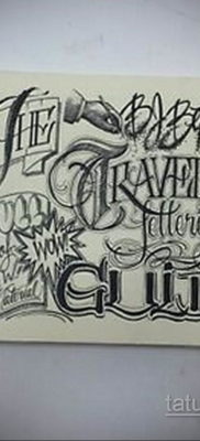 тату надписи шрифты эскизы 14.09.2019 №021 – tattoo lettering fonts sketche – tatufoto.com