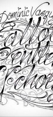 тату надписи шрифты эскизы 14.09.2019 №033 – tattoo lettering fonts sketche – tatufoto.com