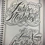 тату надписи шрифты эскизы 14.09.2019 №037 - tattoo lettering fonts sketche - tatufoto.com