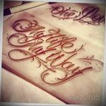тату надписи шрифты эскизы 14.09.2019 №047 - tattoo lettering fonts sketche - tatufoto.com