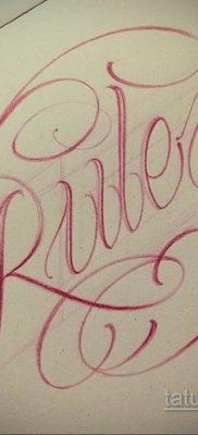 тату надписи шрифты эскизы 14.09.2019 №075 – tattoo lettering fonts sketche – tatufoto.com