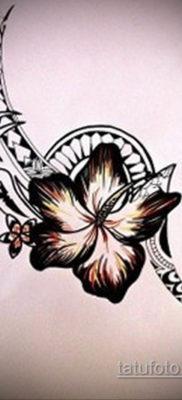 тату цветок женский эскиз 14.09.2019 №034 – tattoo flower female sketch – tatufoto.com